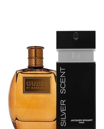 Bundle for Men: Marciano for Men, edT 100ml by Guess + Silver Scent for Men, edT 100ml by Jacques Bogart