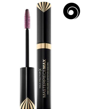 Black - Masterpiece MAX High Volume and Definition Mascara, 7.2ml (High Volume that's sleek and smoot. Suitable for contact lens wearers) by Max Factor