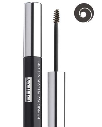 Dark Brown 003 - Eyebrow Plumping Gel - Tinted Eyebrow Thickening and Fixing Gel by PUPA