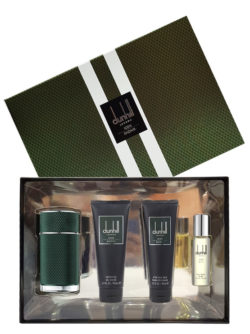 Icon Racing Gift Set for Men (edP 100ml + Shower Gel 90ml + After Shave Balm 90ml + Travel Spray edP 30ml) by Dunhill