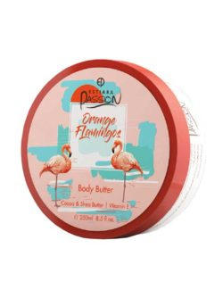 Orange Flamingos Body Butter Cocoa & Shea Butter with Vitamin E, 350ml by Estiara Passion