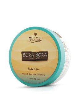 Bora Bora Beach Day Body Butter Cocoa & Shea Butter with Vitamin E, 250ml by Estiara Passion